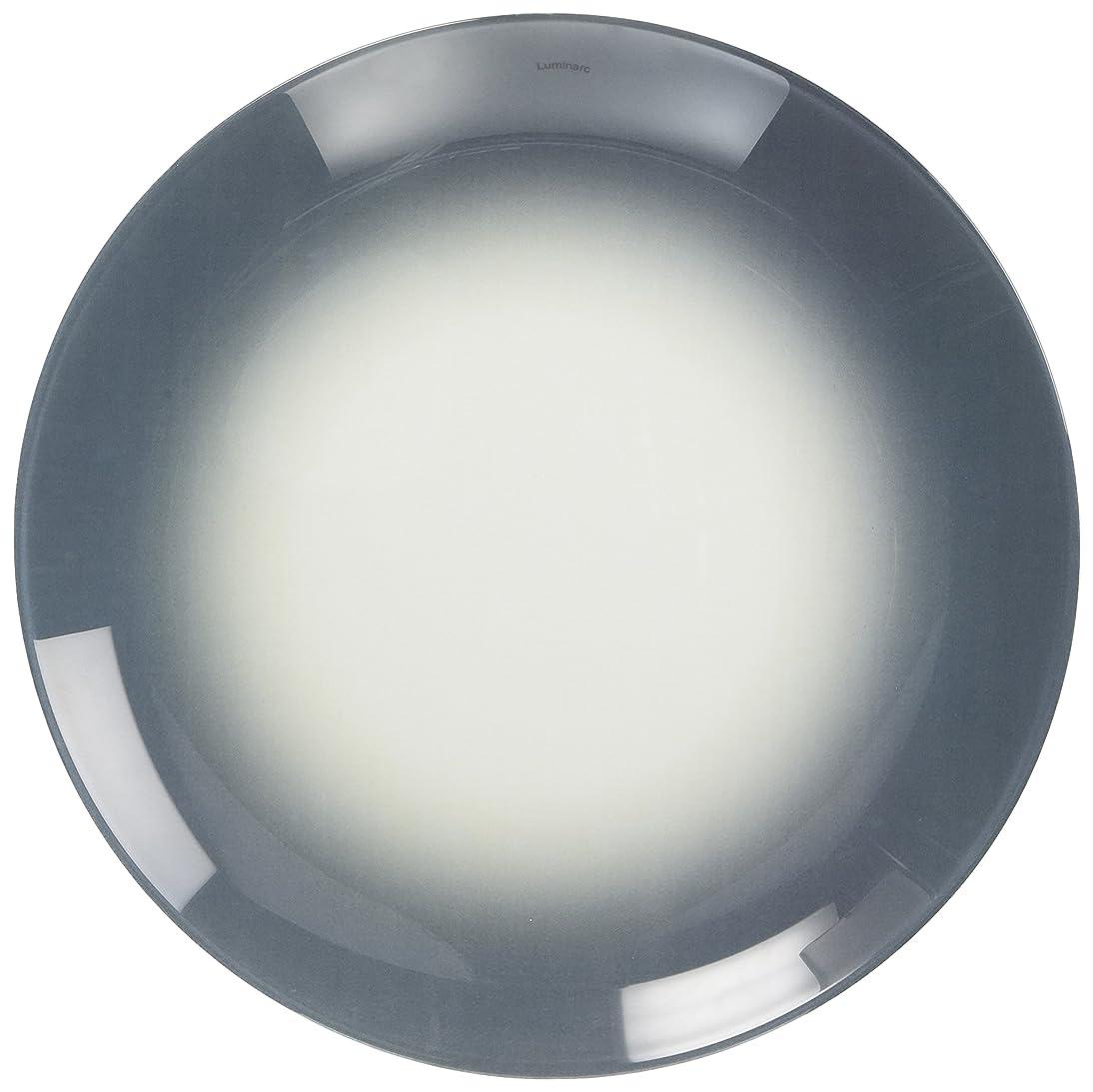 スタイル最もなるLuminarc デザート皿 プレート フィズ グレー 20 J7861