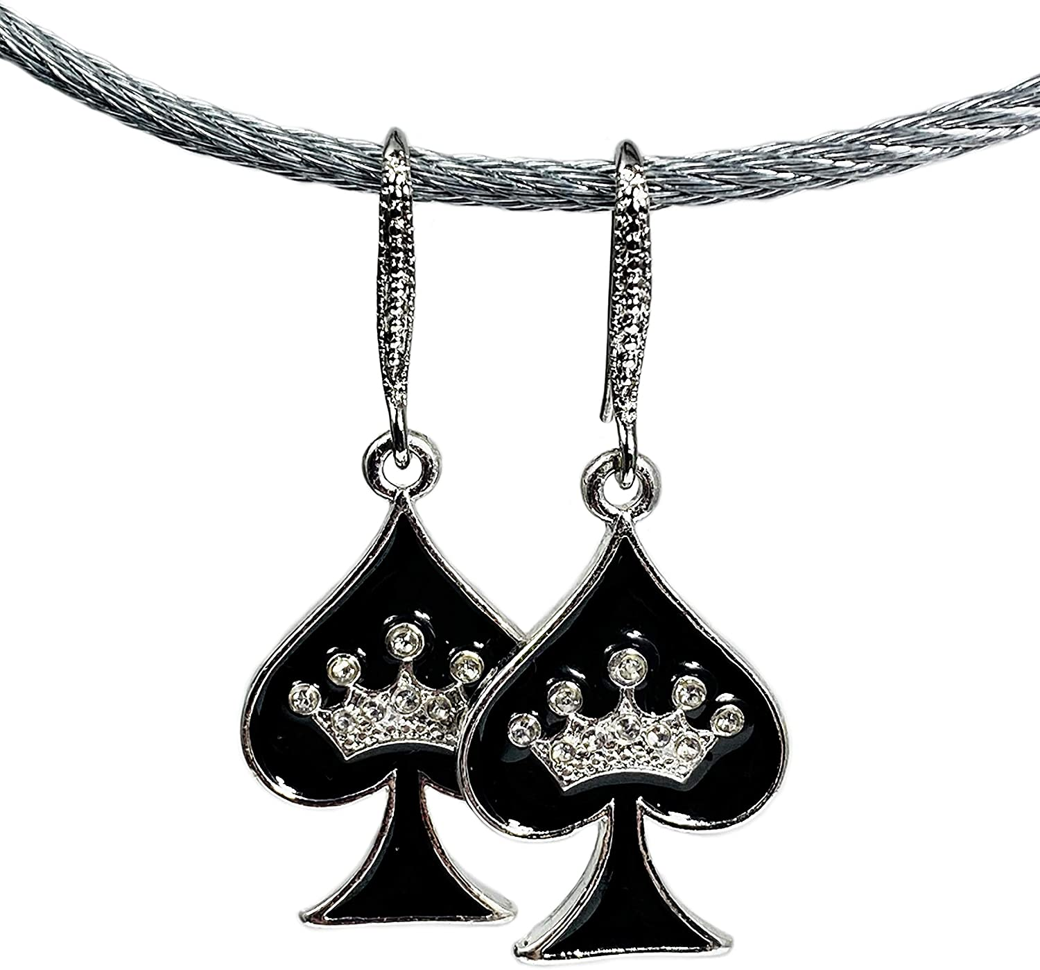 His and Hers Intimates HOTWIFE Earring Sets - Jewelry, Hot Wife, Vixen, MFM, Queen of Spades, QOS, Swinger, Lifestyle, BBC, Cuckold, Threesome, Anklet, Bracelet
