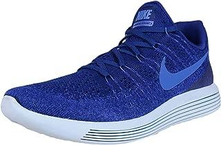 Mens Lunarepic Low Flyknit 2 Running Shoe Deep Royal Blue/Medium Blue 8.0