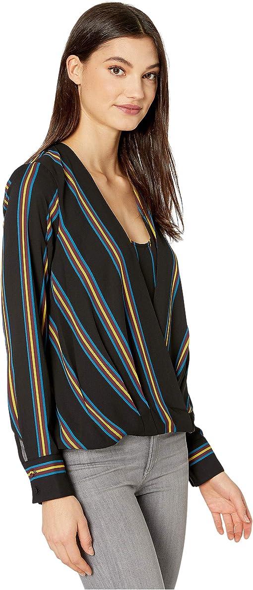 Black/Medina Stripe