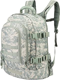 Expandable Backpack 39L-64L Large Military Tactical Bug Out Bag Wth Waist Strap