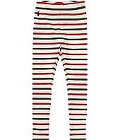 Polo Ralph Lauren Kids Striped Stretch Cotton Leggings (Little Kids)