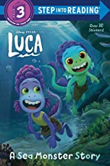 A Sea Monster Story (Disney/Pixar Luca) (Step into Reading) Paperback