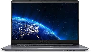 "ASUS VivoBook F510UA Thin and Lightweight 15.6"" FHD WideView NanoEdge Laptop, Intel Core i5-7200U 2.5GHz, 8GB DDR4 RAM, 1TB HDD, USB Type-C, Fingerprint Reader, Windows 10 – F510UA-AH50"