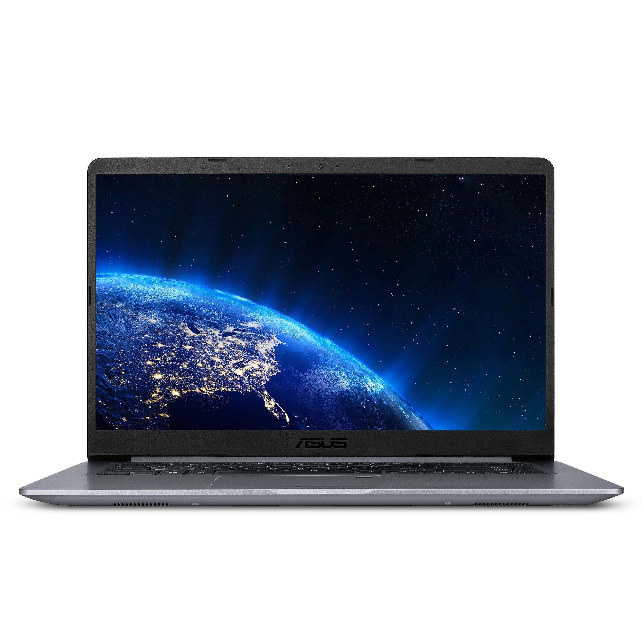ASUS VivoBook F510UA FHDノートブック、Intel Core i5-8250U、8GB RAM、1TBハードドライブ、USB-Cスターグレーi5-8250U 8GB RAM 128GB SSD + 1TB HDD Windows 10