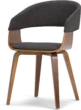 SIMPLIHOME Malden Dining Chair, Grey/Natural
