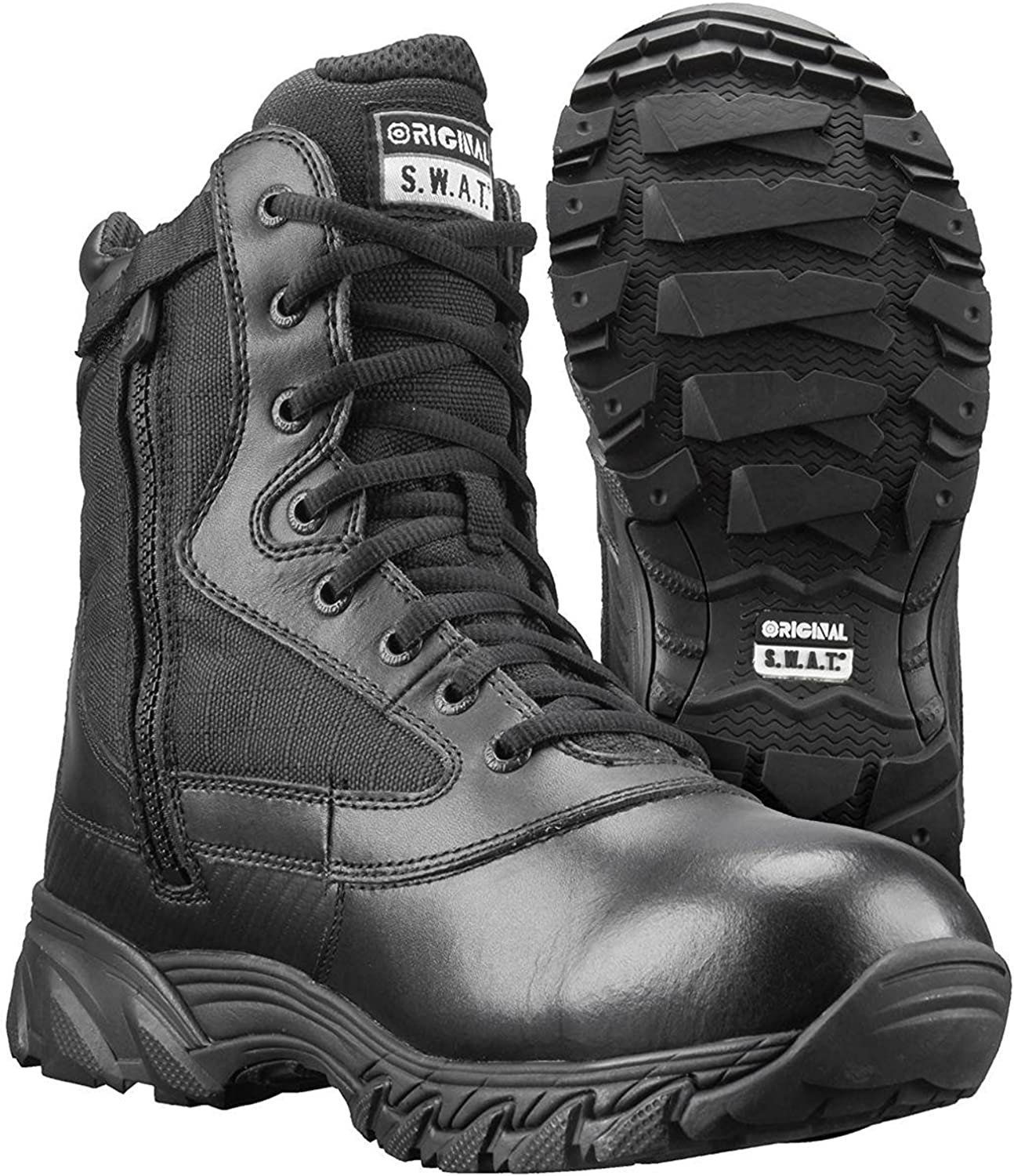 Original S.W.A.T. Men's Chase 9 Inch Waterproof Side-Zip Military and Tactical Boot