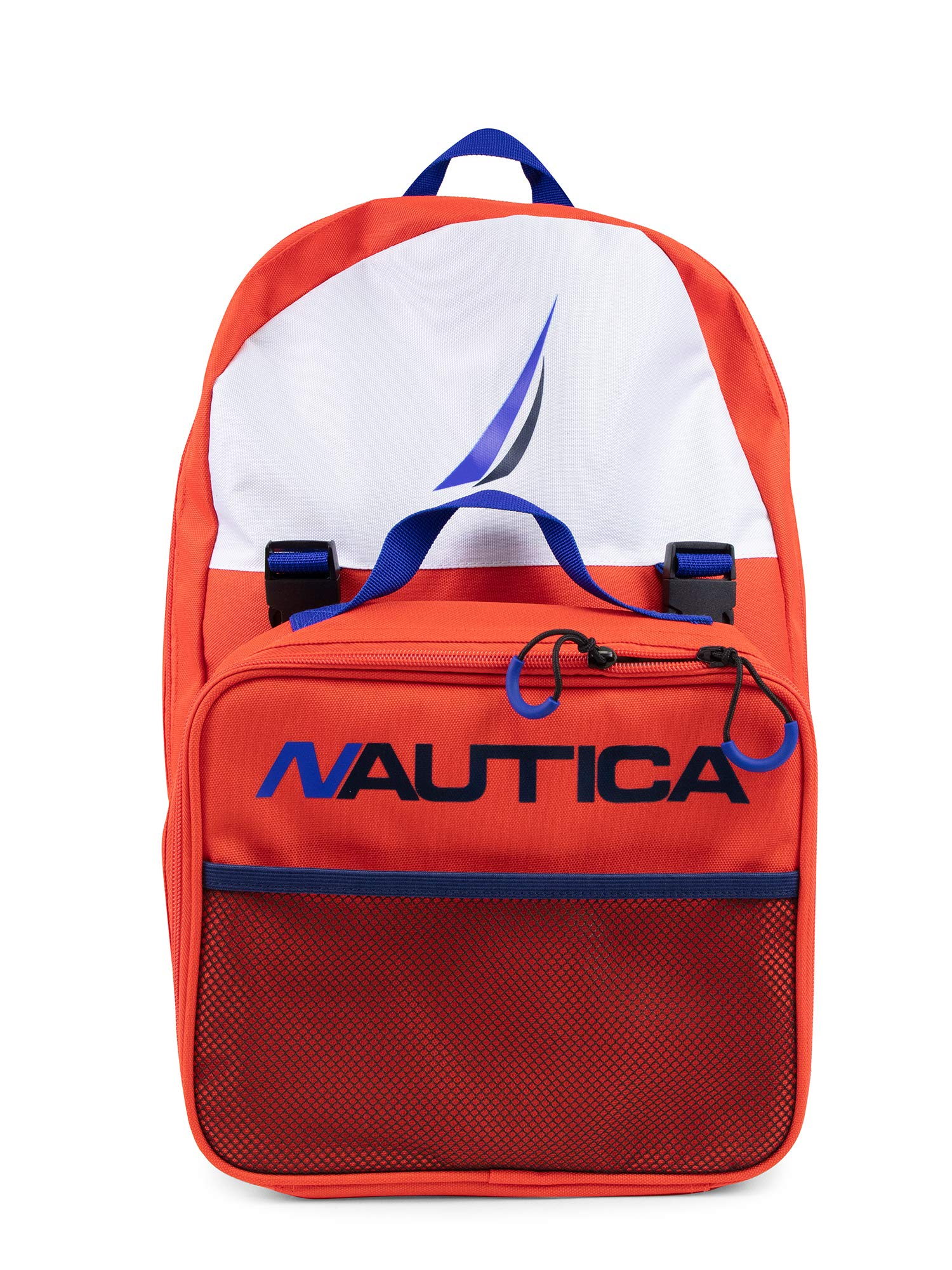 Nautica Backpack Lunch Combo Orange