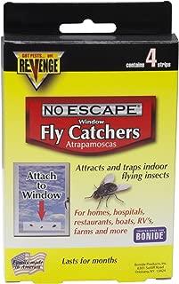 Revenge Window Fly Catchers - 1 Box (4 Strips)