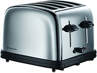 Russell Hobbs Classic 4 Slice Toaster - 20730, Silver