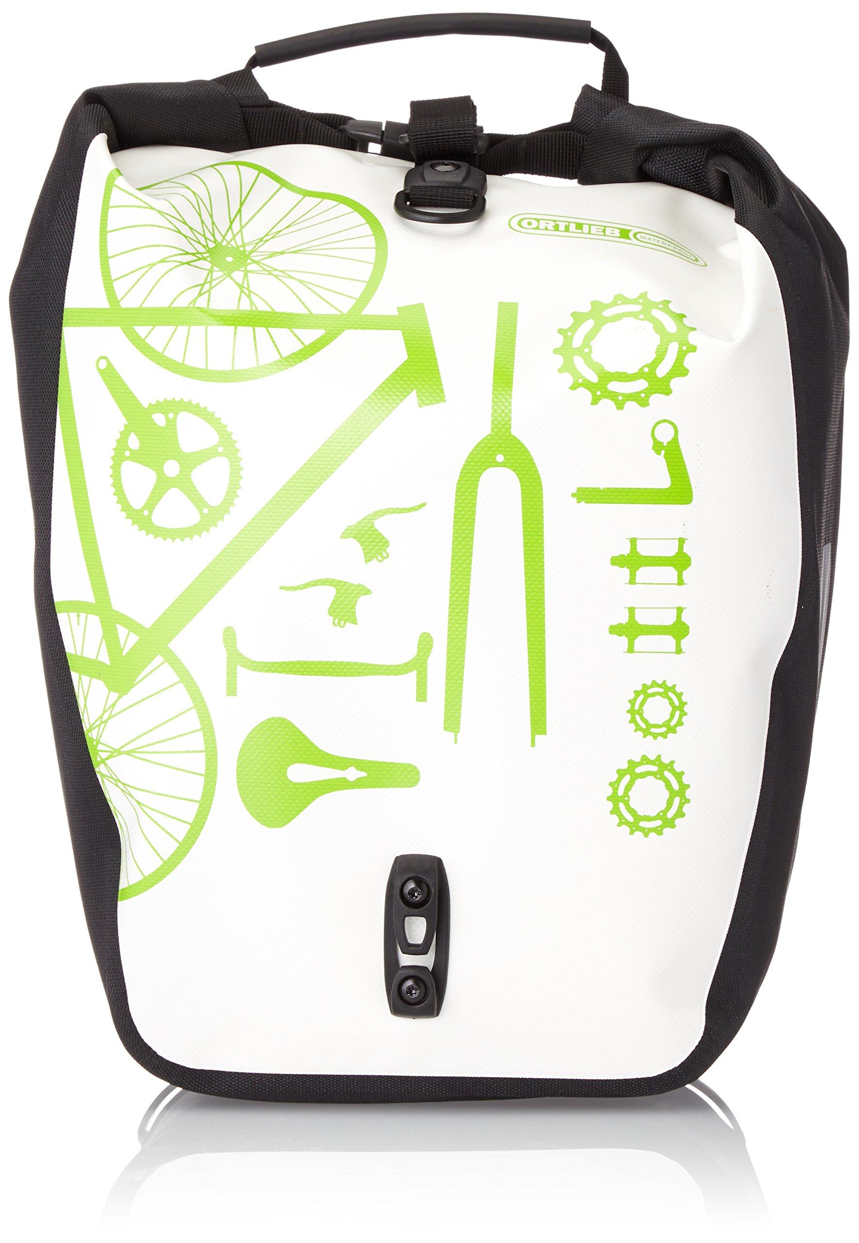 Ortlieb Bicicleta Back-Roller Design, Blanco-SW, 32 x 17 x 42 cm, 40 litros, F5462: Amazon.es: Deportes y aire libre