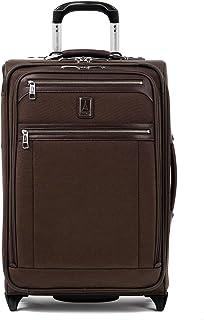 Travelpro Platinum Elite-Softside Expandable Upright Luggage, Rich Espresso