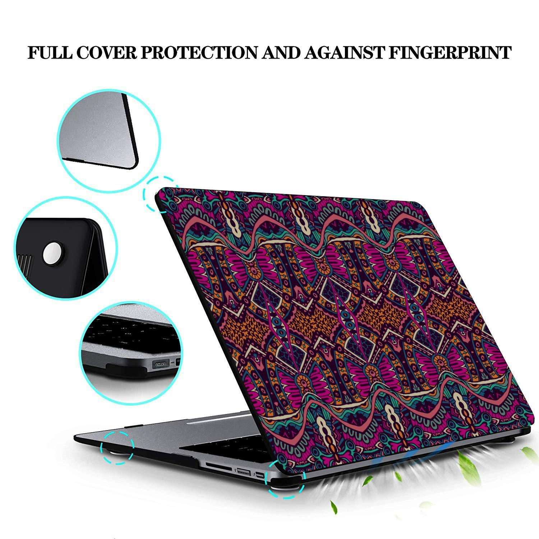 Fundas Macbook Moda Tradicional Retro Pintura Plástico Carcasa Dura Compatible Mac Air 11