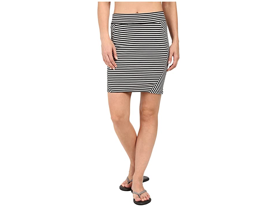 Toad&Co Transita Skirt (Black Stripe) Women