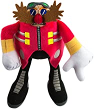 SONIC Modern Dr. Eggman Collectible Plush Toy, Red