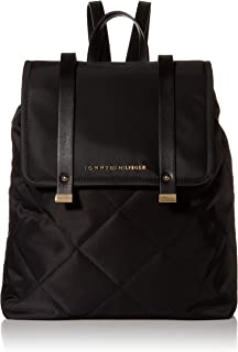Tommy Hilfiger womens AMELIA-BACKPACK-SMOOTH NYLON Backpack