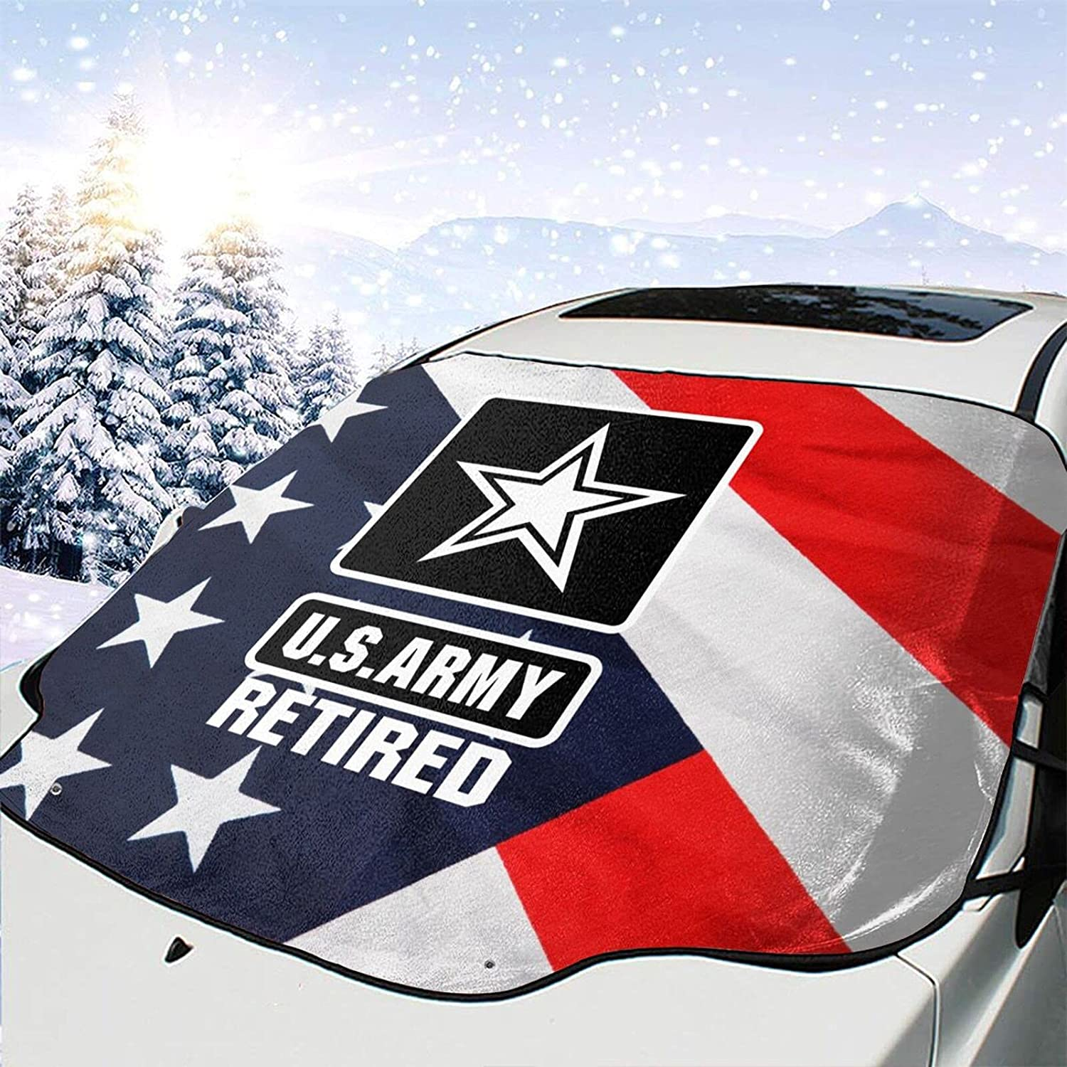 Genuine Army Retired Windshield Ranking TOP11 Snow Cover Wiper Visor Removal Prote Ice