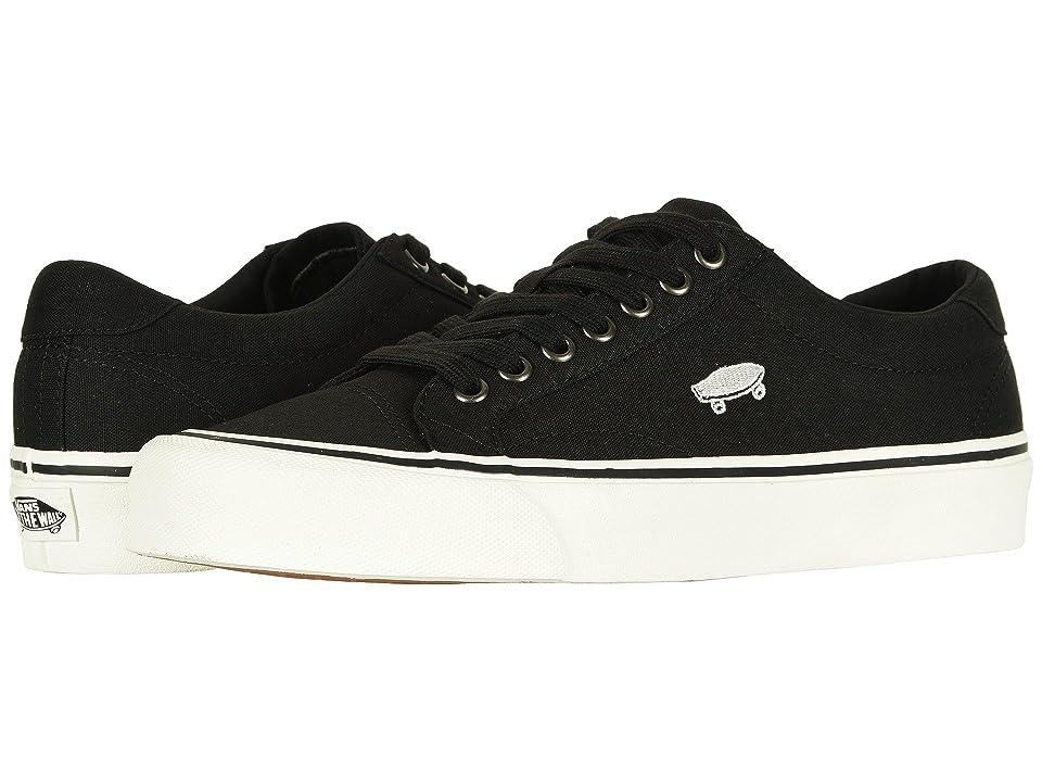 Vans Court Icon (Black/Cloud Dancer) Skate Shoes
