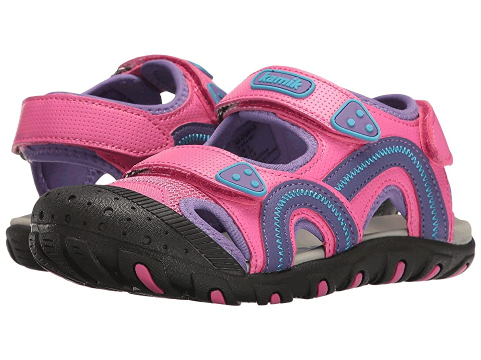 Kamik Kids Seaturtle (Toddler/Little Kid/Big Kid) (Magenta) Girl