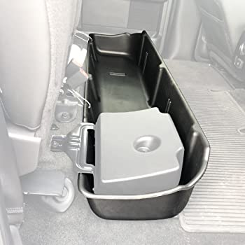 Tuffy 287-01 Under Driver Side Rear Seat Lockbox for F-150 2009-2014 with Subwoofer Subwoofer /& Raptor Crew Cab