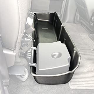 Red Hound Auto Under Seat Storage Box Compatible with Ford F150 2009-2014 F-150 SuperCrew Crew Cab (Will Only fit SuperCrew Cab, fits Vehicles with OEM subwoofers)