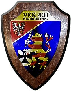 Vapskylt VKK 431 Frankfurt försvarskreiskkommando reservvisten #17378