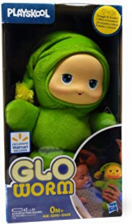 Playskool Lullaby Gloworm Toy Green