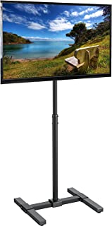 VIVO TV Floor Stand for 13 to 42 inch Flat Panel LED LCD Plasma Screens | Portable Display Height Adjustable Mount (STAND-TV07)
