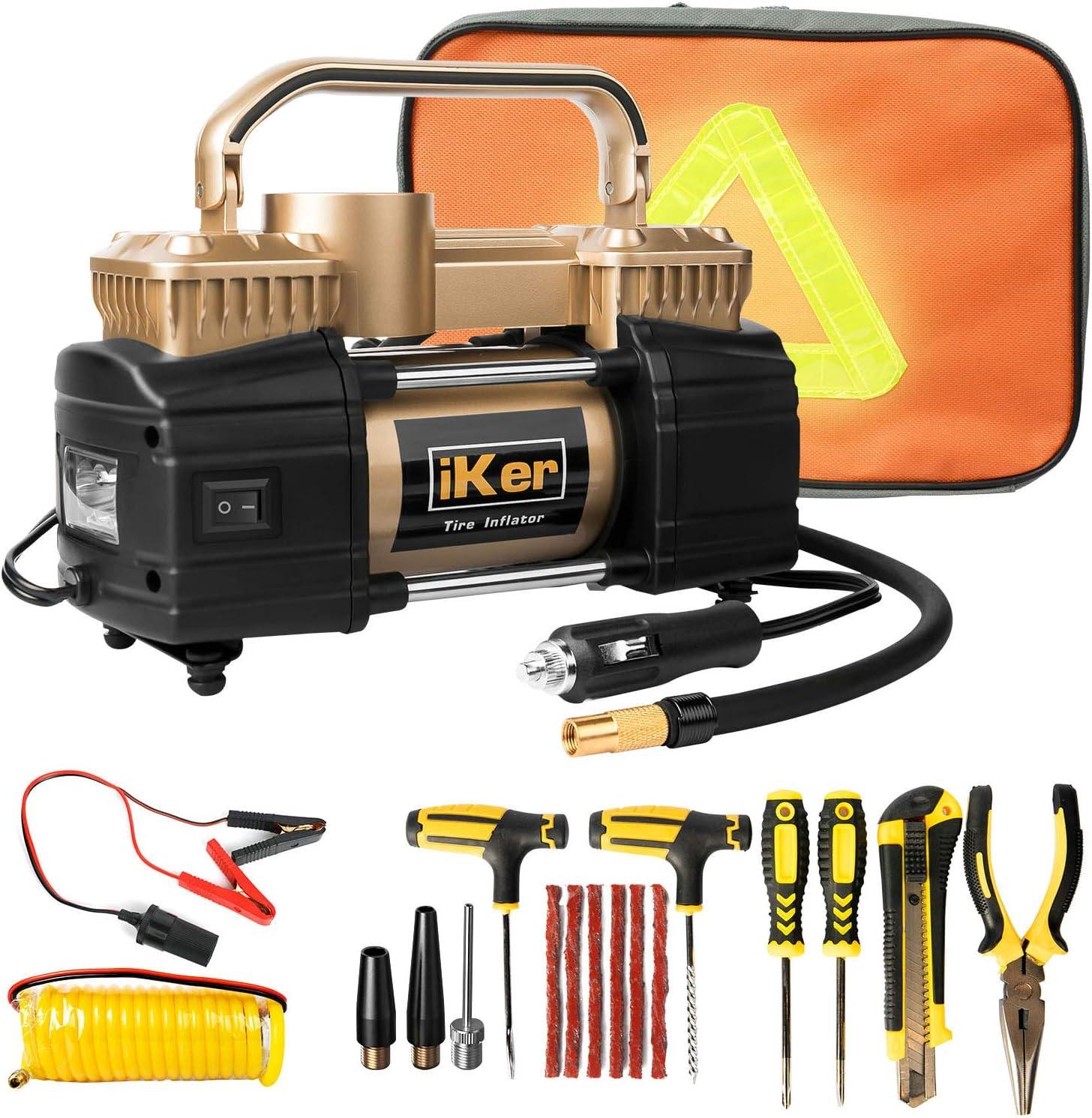 IKer Portable Air Compressor Pump for Truck Tires, Suv