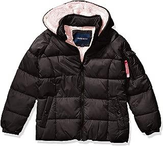 Girls' Puffer W/Sherpa Fleece
