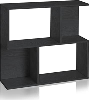 Way Basics Eco Soho Bookcase Side Table And Storage Shelf Black Made From