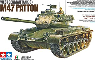 Tamiya America, Inc 1/35 West German Tank M47 Patton, TAM37028