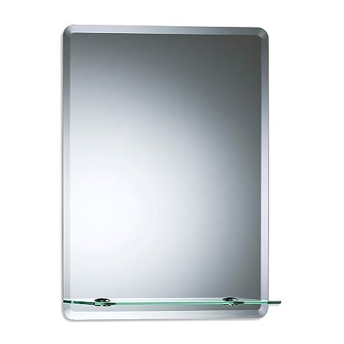 Bathroom Mirrors With Shelf Amazon Co Uk
