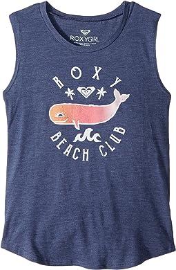Roxy Kids Roxy Beach Club Muscle Tank Top (Big Kids)