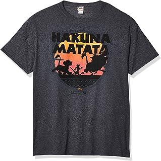 Disney mens Lion King Gang Hakuna Matata Sunset Graphic T-shirt Shirt