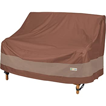Duck Covers Ultimate Water-Resistant 54 Inch Patio Loveseat Cover