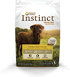 Instinct Original Grain Free Chicken Meal Formula Natural Dry Dog Food By Nature'S Variety, 405 Ounce Bag