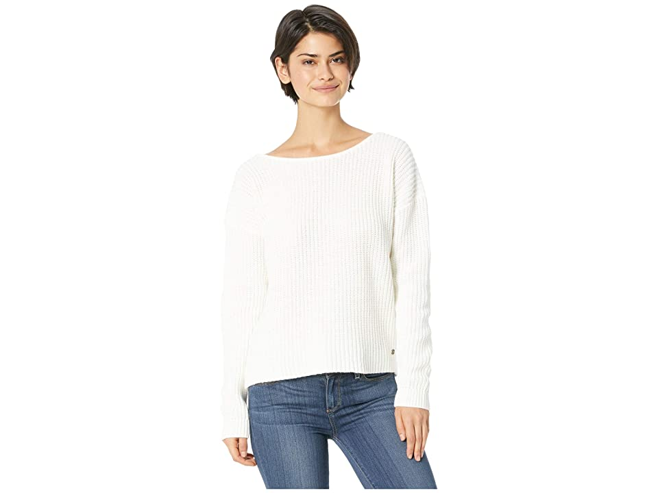 Roxy Bamboo Bridge Sweater (Marshmallow) Women