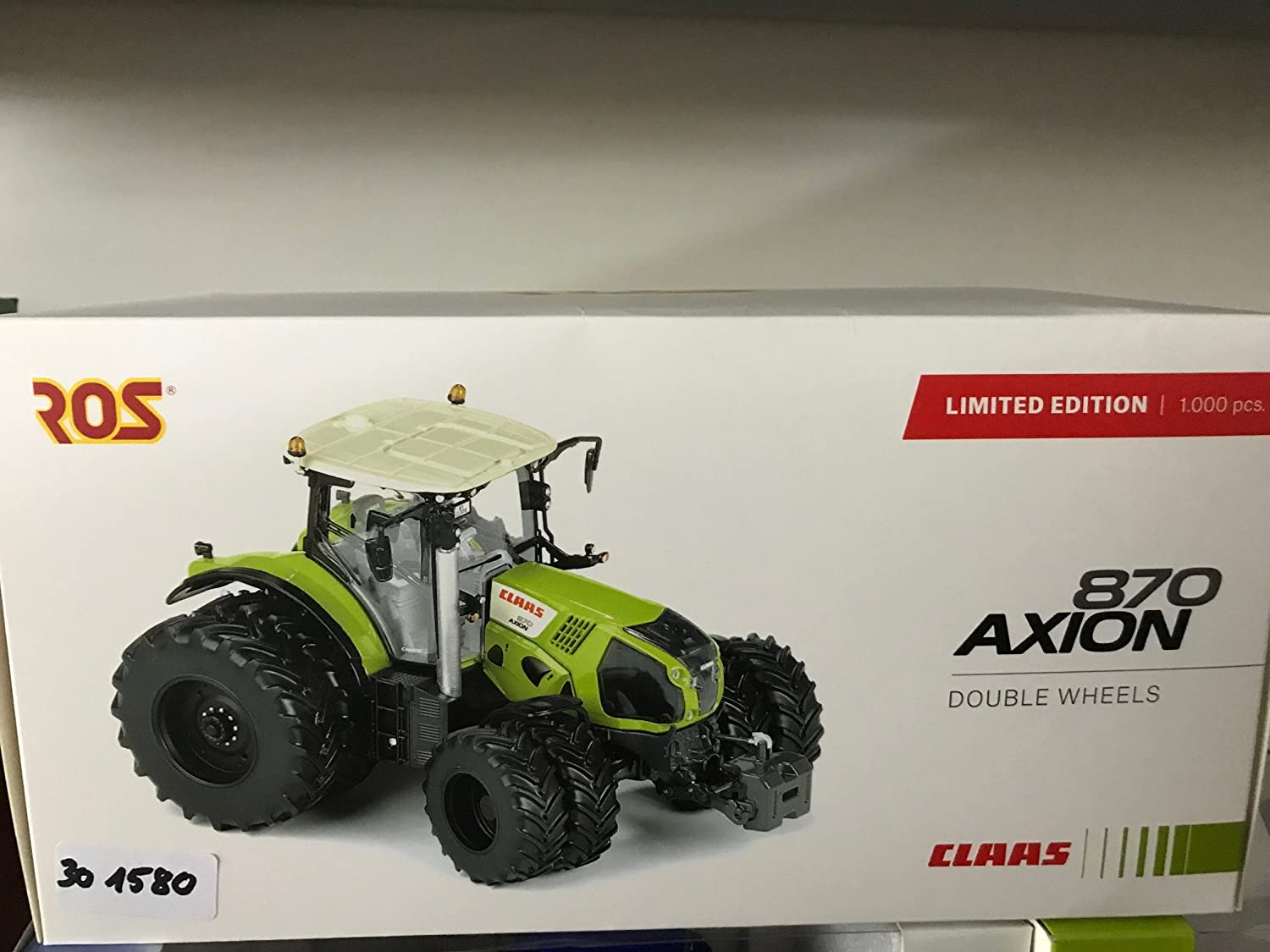 301580 Claas Axion 870 8wheel , 1 32 ROS