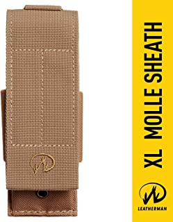 LEATHERMAN - MOLLE Compatible X-Large Nylon Sheath for Multitools, Fits MUT, Surge, and Super Tool 300 - Brown