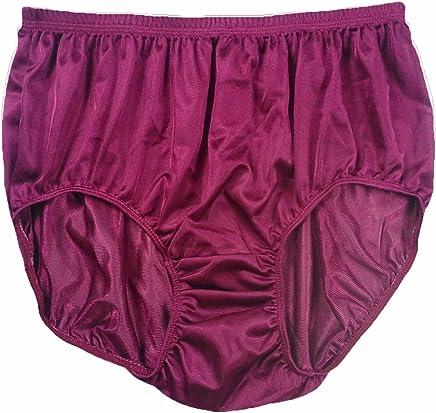 7d7c9d9578 JR03 Deep Red New Lingerie for Women Half Briefs Panties Sheer Nylon Panty  Mens Underwear Women