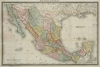 VintPrint Map Poster - Mexico 13