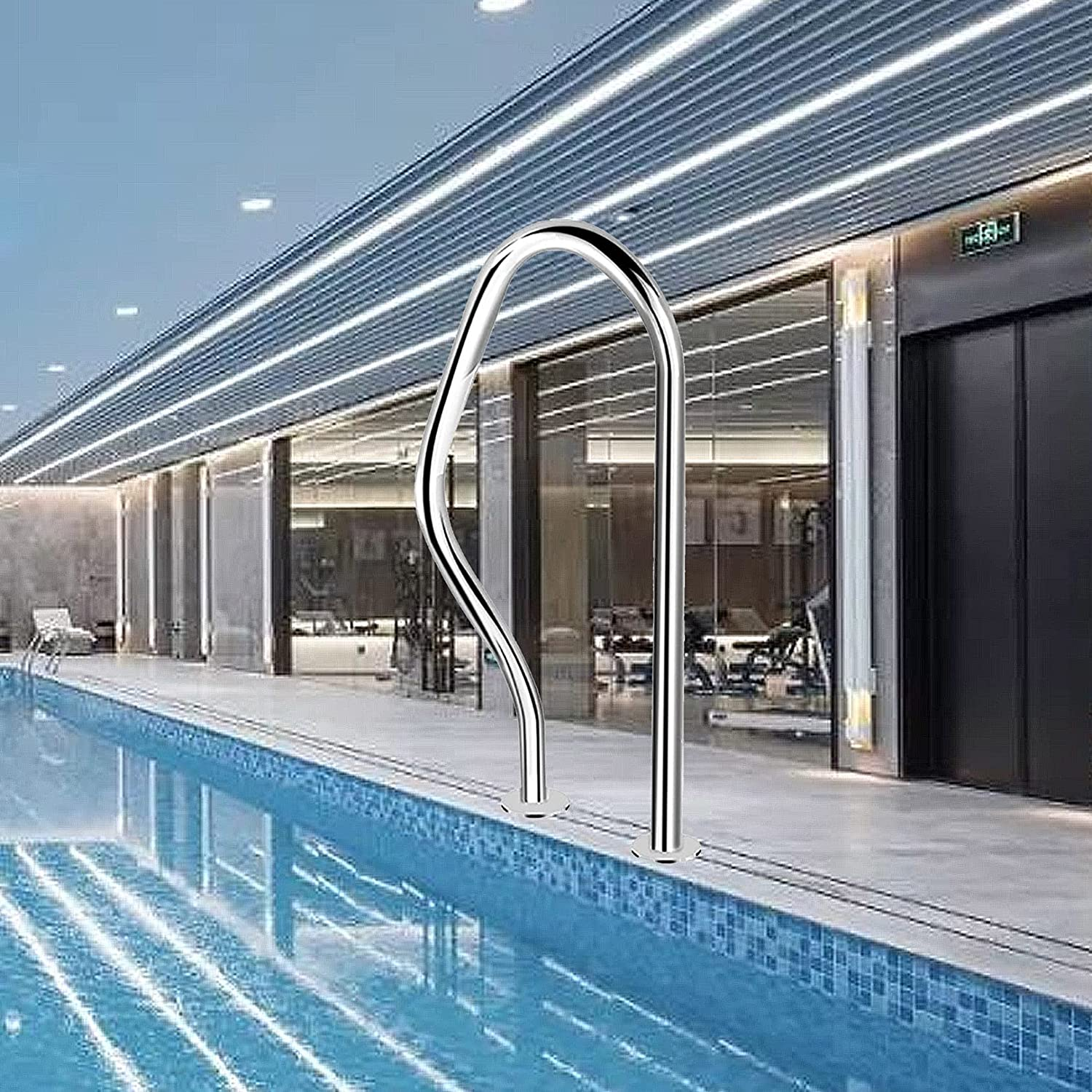 WUDAXIAN Safety Ranking TOP13 1PCS Swimming Pool In Handrails 31x18 Max 81% OFF Rail
