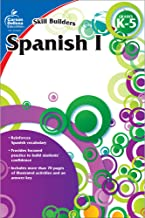 Carson Dellosa – Skill Builders Spanish I Workbook, for Grades K–5, Ages 5–11, 80 Pages With Answer Key