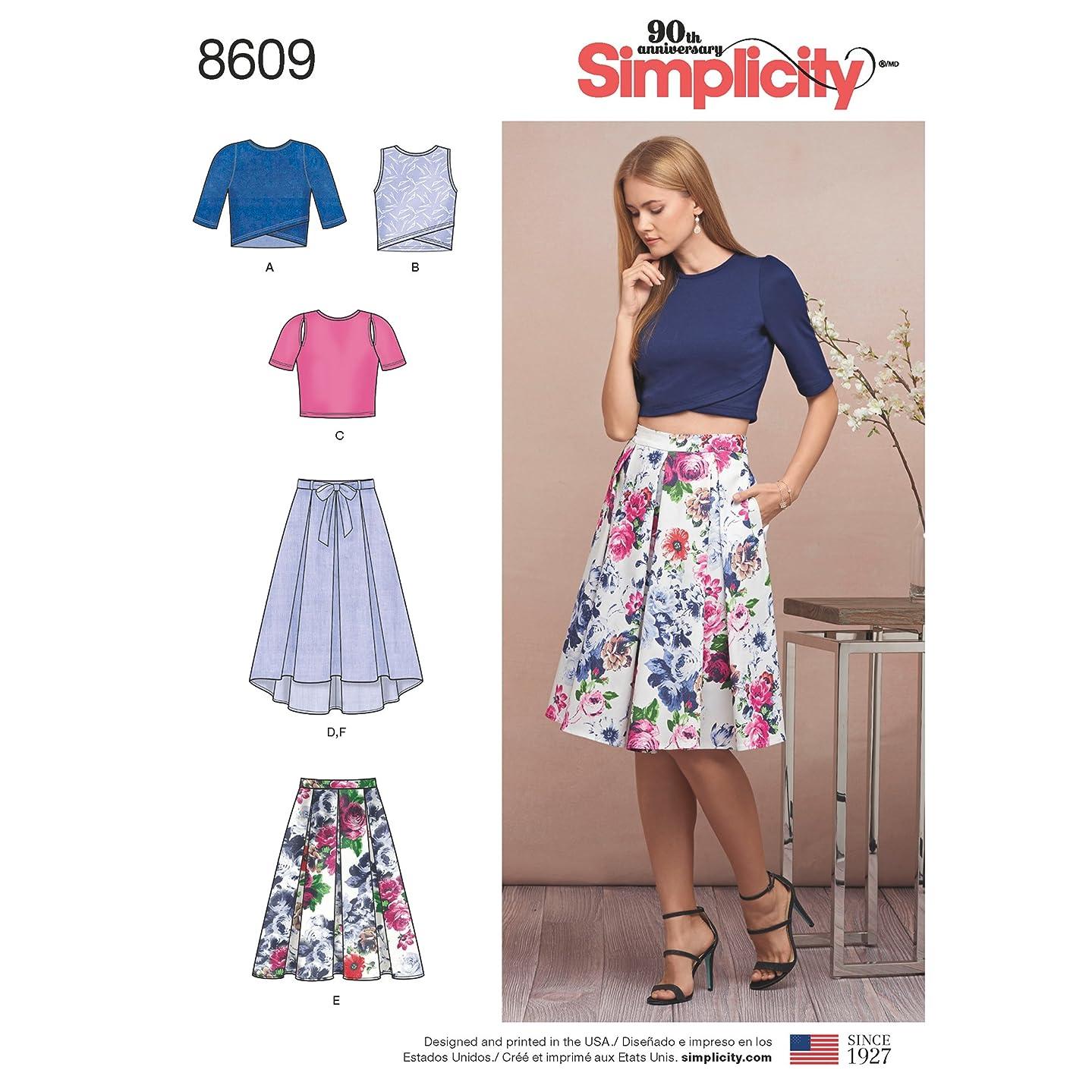 Simplicity Creative Patterns US8609D5 Dresses