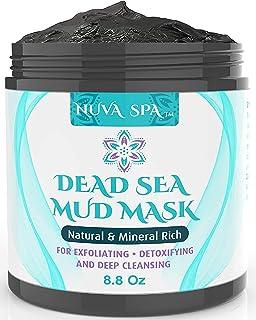 Nuva Spa: Dead Sea Mud Mask for Face Acne, Oily Skin & Blackheads – Wash-Off Dead Sea Face Mask – Natural Moisturizing Min...
