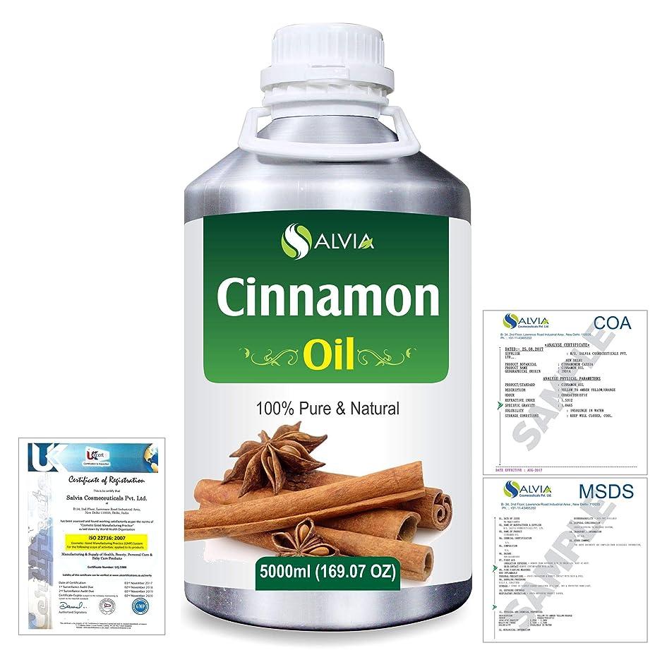 事実サーキュレーション変更可能Cinnamon (Cinnamomum Cassia) 100% Natural Pure Essential Oil 5000ml/169fl.oz.