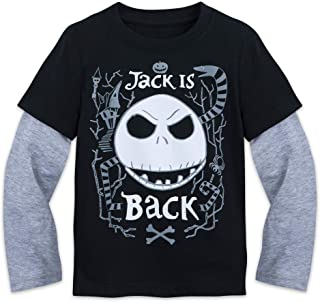 Disney Jack Skellington ''Jack is Back'' Shirt Kids - The Nightmare Before Christmas Gray