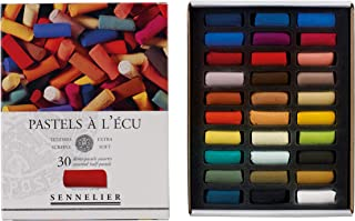 Savoir-Faire Sennelier Soft Pastels Half Stick Set 30/Pkg-Assorted