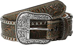 Embossed & Studded Belt